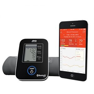 A&D Medical Wireless Connected Blood Pressure Monitor