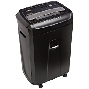 AmazonBasics 24-Sheet Cross-Cut Paper Shredder